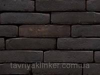 """Кирпич клинкерный ручной формовки """"NATURE"""" Black brown"""