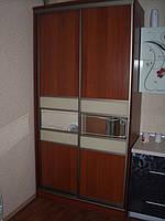 Шкаф-купе две двери, фасад ДСП