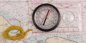Компас планшетный (для карт) MFH 34203