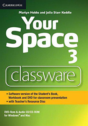 Your Space 3 Presentation Plus DVD-ROM with Teacher's Resource Disc