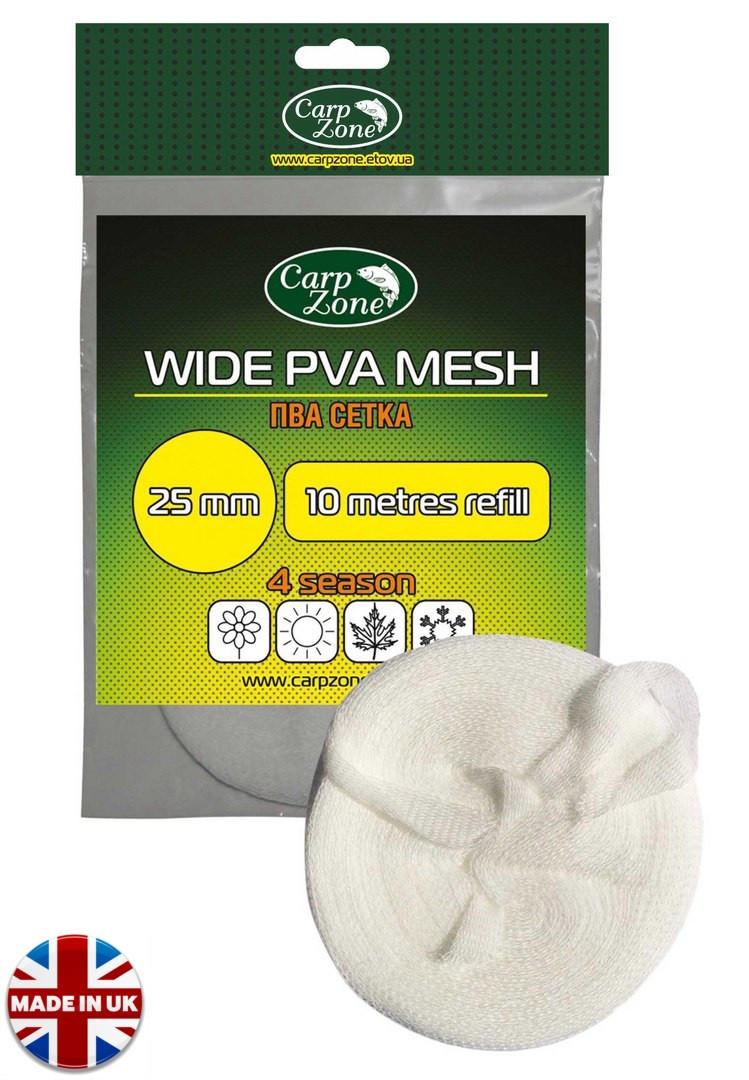 ПВА сетка (универсальная) PVA Mesh 10m d 25mm