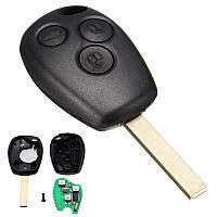 Ключ с платой Renault 3 кнопки 433Mhz, чип ID46, фото 1