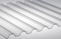Монолитный профилированный поликарбонат Borrex (Борекс) 1,05*2 м 0,8 мм Прозрачный