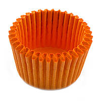 Тарталлетка бумажная 3B оранжевая (30/24) 15-20шт