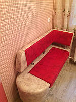 """Небольшой диван на кухню """"Laim 2""""  с боковой спинкой"""