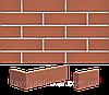 Плитка клинкерная облицовочная King Klinker (01) Рубиновый красный 250х65х10