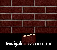 Плитка клинкерная облицовочная King Klinker (02) Коричневый глазурованный 250х65х10