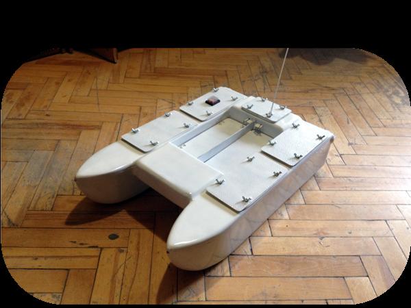 Корпуса корабликов для рыбалки CarpZone «Классик» Крашенные корпуса