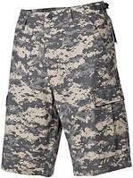 Полевые бермуды американской армии, Rip Stop, цифровой камуфляж MFH 01512Q
