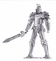 3D конструктор из металла: Рыцарь с мечом! Трехмерный пазл головоломка!, фото 1