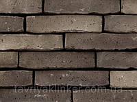 """Плитка клинкерная ручной формовки """"NATURE"""" Black grey"""