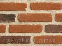"""Плитка клинкерная ручной формовки """"Antique"""" Orange red"""