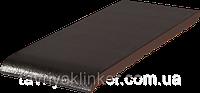 Подоконник отлив клинкерный King Klinker 150x120x15 (17) Ониксовый чёрный