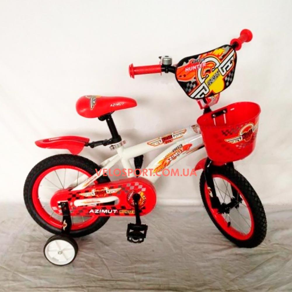 Детский велосипед Azimut Hunter 16 дюймов