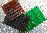 Монолитный профилированный поликарбонат Borrex (Борекс) 0,8 мм Цветной (в ассортименте)