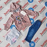 Детские спортивные  модные костюмы для девочек  оптом BBW