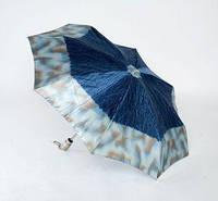 Женский зонт полный автомат Потеки воды