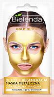 Маска для зрелой и чувствительной кожи Bielenda Gold Detox