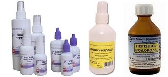 Перекись водорода 3% 100 мл (Kollen) ветеринарный антисептический препарат