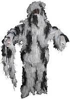 [Спец.ЦЕНА] Костюм маскировочный XL/XXL Ghillie Suit снежный камуфляж MFH 07703L