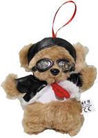 Мягкая игрушка 14см Медвежонок-пилот в очках MFH 37763