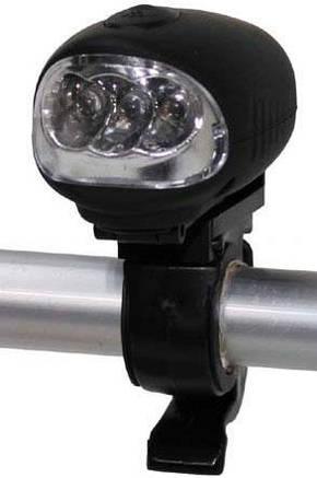 Налобный динамо-фонарь Fox Outdoor Stirnlampe dynamo 3 LED 26440, фото 2