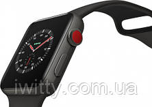 Watch Edition Series 3 GPS + Cellular 42mm Gray Ceramic withGray/Black Sport Band(MQKE2), фото 3