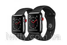 Watch Edition Series 3 GPS + Cellular 42mm Gray Ceramic withGray/Black Sport Band(MQKE2), фото 2
