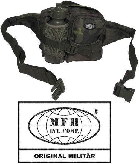 Поясная сумка с бутылкой чешский камуфляж M95 MFH 30943J