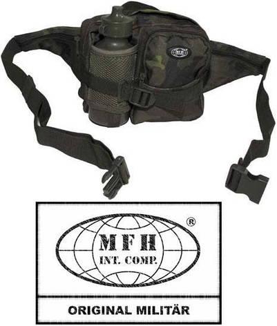 Поясная сумка с бутылкой чешский камуфляж M95 MFH 30943J, фото 2