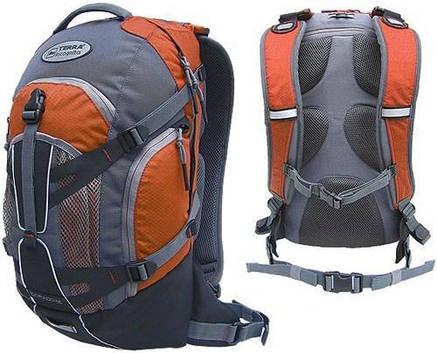 Рюкзак спортивный Terra Incognita Dorado 16 оранжевый/серый, фото 2