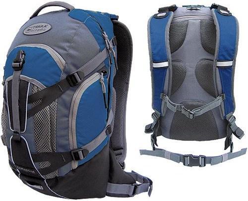 Рюкзак спортивный Terra Incognita Dorado 22 синий/серый