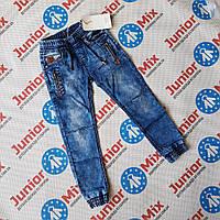 Подростковые джинсовые брюки  джоггеры для мальчиков оптом BIMBO STYLE