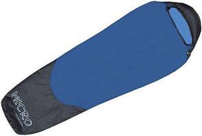 Спальный мешок Terra Incognita Compact 700, синий/серый, правосторонний