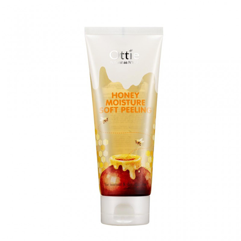 Деликатный пилинг для лица на основе меда Ottie Honey Moisture Soft Peeling - 150 мл