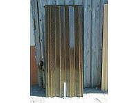 Двери гармошка бежевая волна
