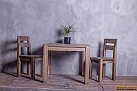 Стол деревянный обеденный W-1, ясень или дуб, (Ш900* В760 * Г900)