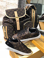Крутые женские кеды Louis Vuitton FRONTROW (реплика)