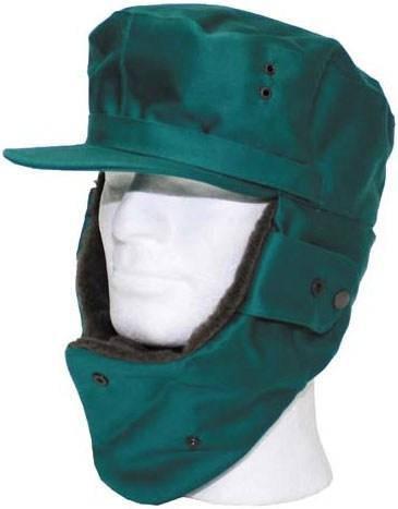 [как новая] Австрийская зимняя шапка р.57 зелёная 610027, фото 2