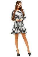 Короткое женское платье из ангоры