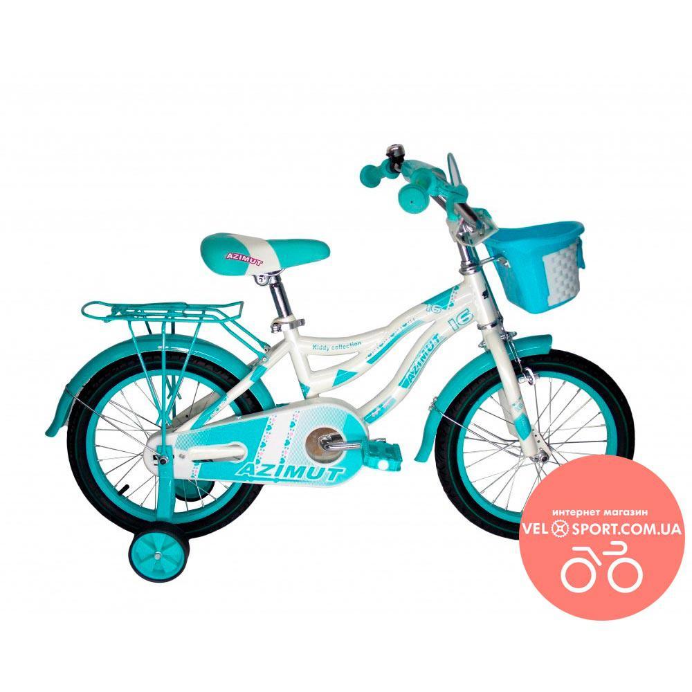 Детский велосипед Azimut Kiddy 16 дюймов