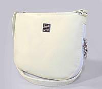 Белая женская сумочка