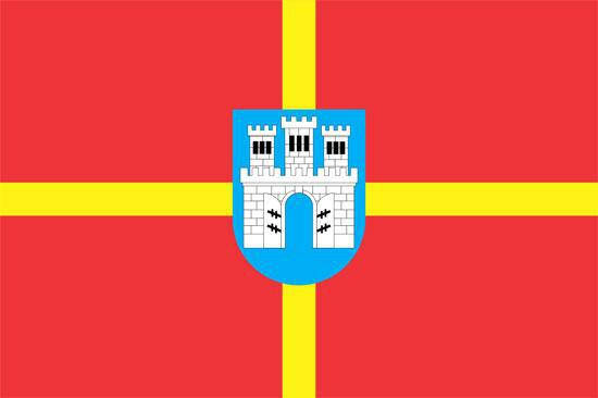 Флаг Житомирской области 90х150см, фото 2