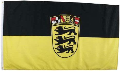 Флаг земли Баден-Вюртемберг 90х150см MFH 35105A