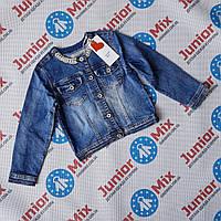 Подростковый джинсовый пиджак для девочек оптом JOY
