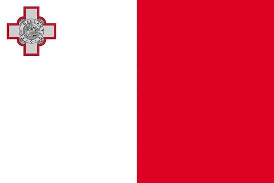 Флаг Мальты 90х150см, фото 2