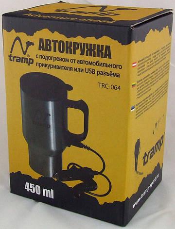 Автокружка 450мл с подогревом USB/12В Tramp TRC-064, фото 2