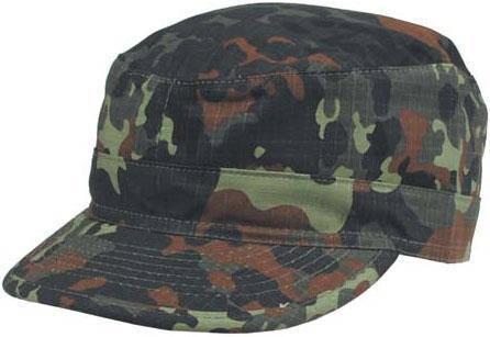 Армейская кепка US BDU Rip Stop (XXL) флектарн MFH 10213V, фото 2
