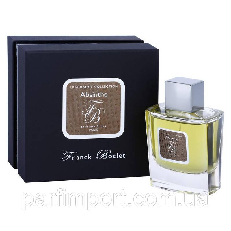 FRANCK BOCLET ABSINTHE EDP 50 ml  парфюм унисекс (оригинал подлинник  Франция)