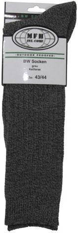 Армейские носки Бундесвера р.43-44 серые MFH 13081M, фото 2